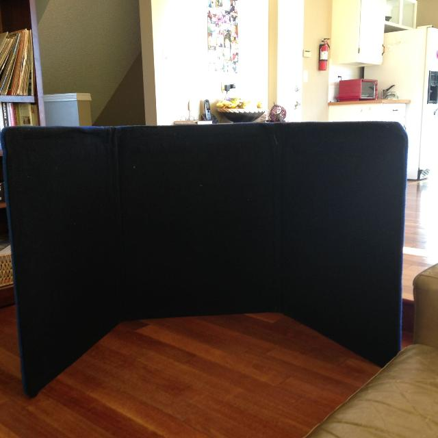Trifold Display Board Large And Sturdy
