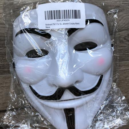 NEW Guy Fawkes V for Vendetta Mask, used for sale  Canada