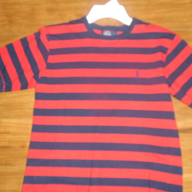 ad57e7ad43 Best Boys Polo Ralph Lauren Navy And Red Striped Shirt Size S (8-10)  Excellent Condition for sale in Spring Hill, Tennessee for 2019