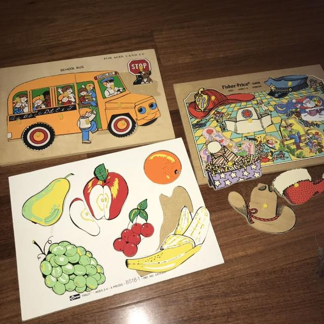 Vintage Wooden Puzzles Awesome