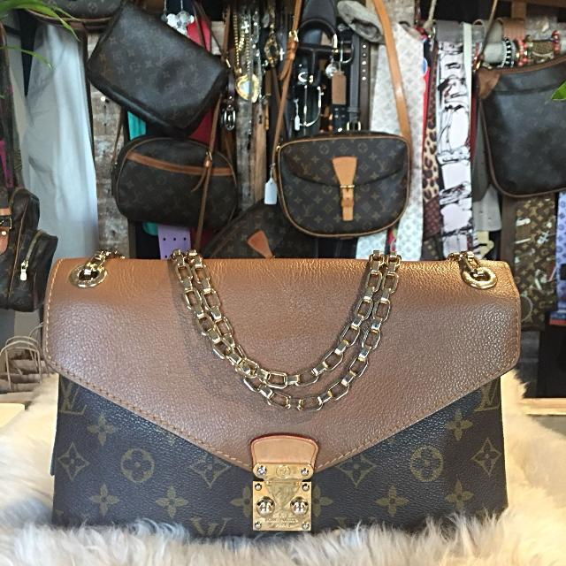 9b01bd80b2eb Find more Louis Vuitton Monogram Pallas Chain Bag for sale at up to ...