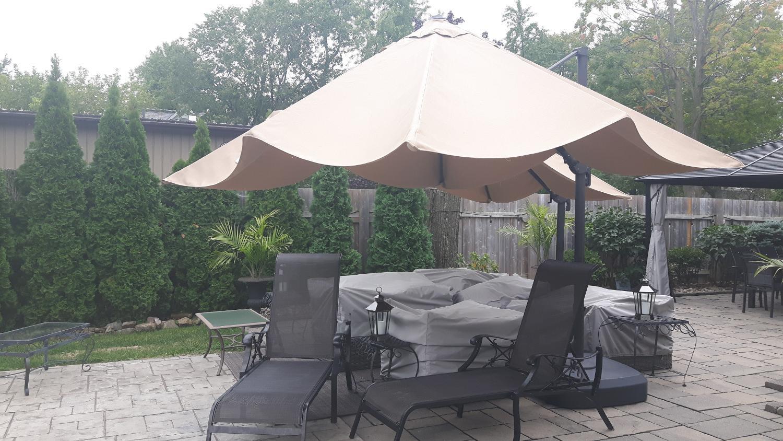 Huge Commercial Patio Umbrella 12 Ft