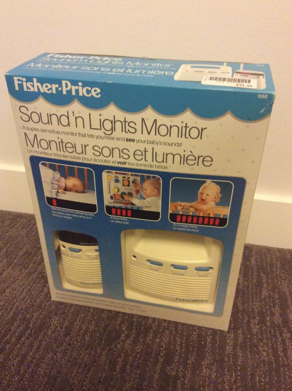 Fisher Price Sounds 'n Lights Monitor