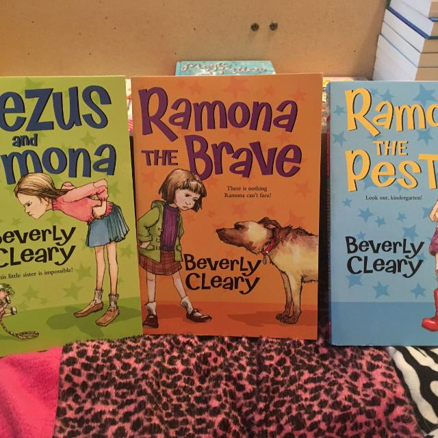 REDUCED 3 Ramona and Beezus books