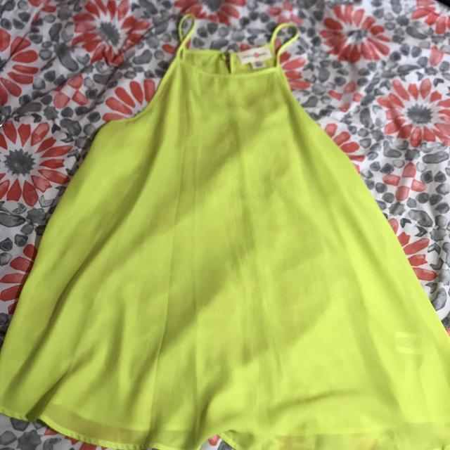 bb3f846307128 Best Bright Yellow Tank Top for sale in Brenham