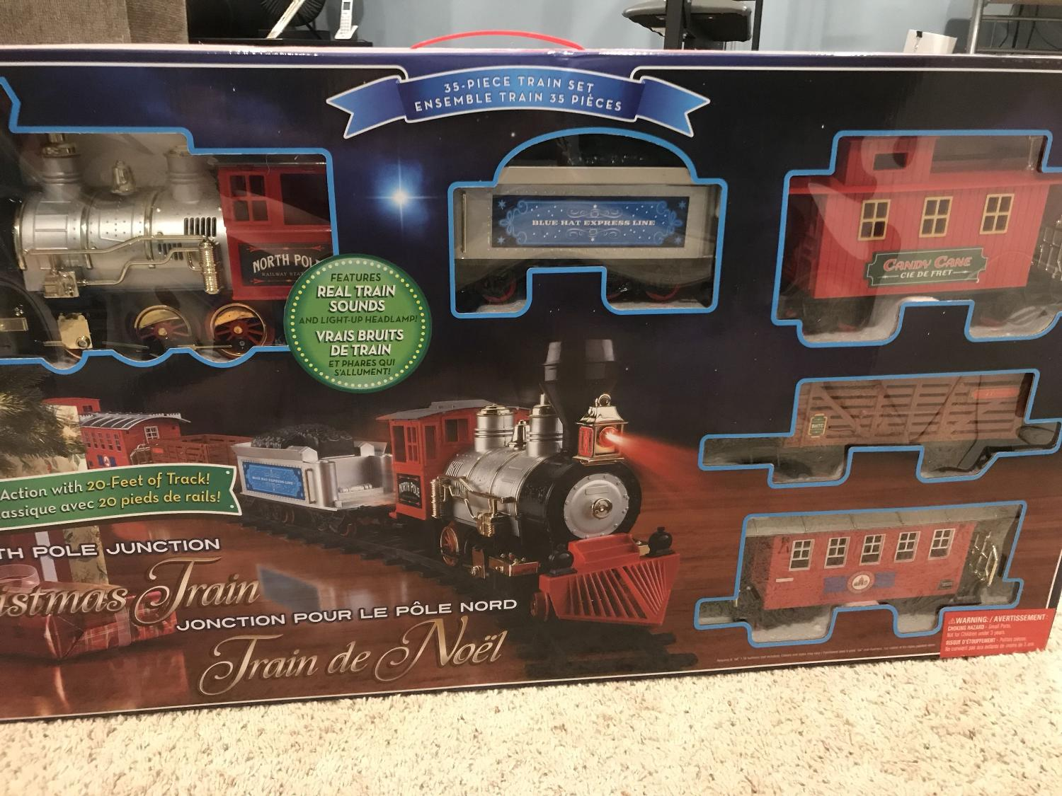 Find more North Pole Junction Christmas Train for sale at up to 90% off