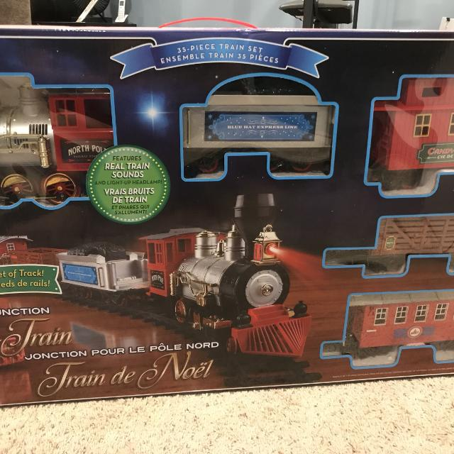 north pole junction christmas train - North Pole Junction Christmas Train