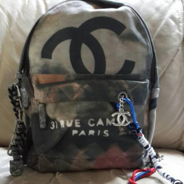 48a0a9ecea88 Best 1 1 Chanel Graffiti Backpack for sale in Hoover