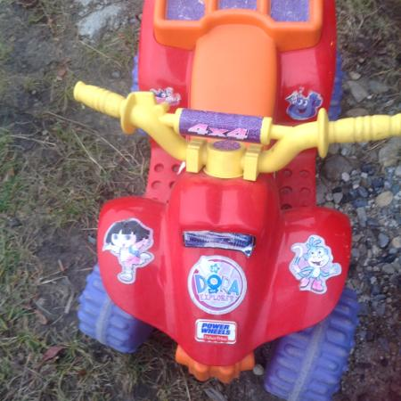 Fisher Price Power Wheels Dora Quad for sale  Canada