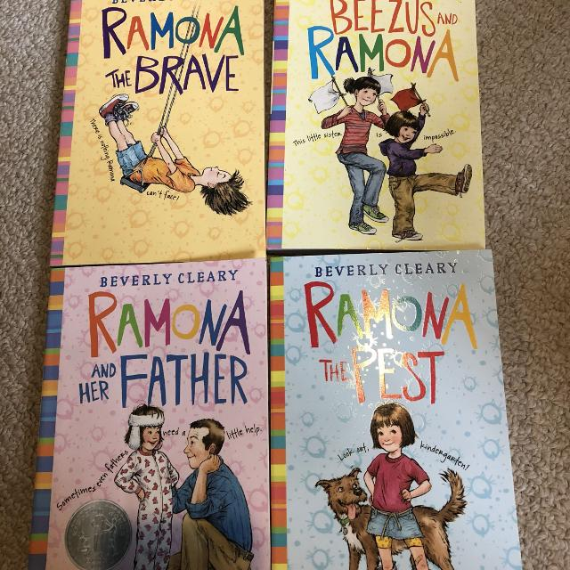 Ramona Series by Beverly Cleary (Books 1-4)