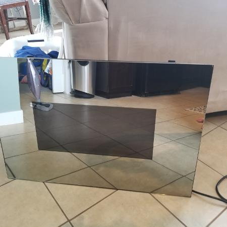 Wall mount mirror faux fireplace. Has... for sale  Canada