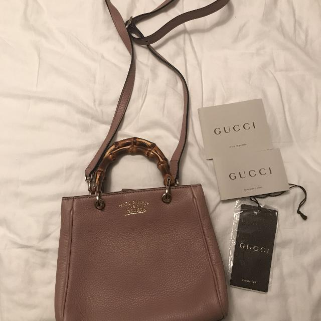 709f3c92a81 Find more Brand New Gucci Dusty Rose Bag for sale at up to 90% off ...