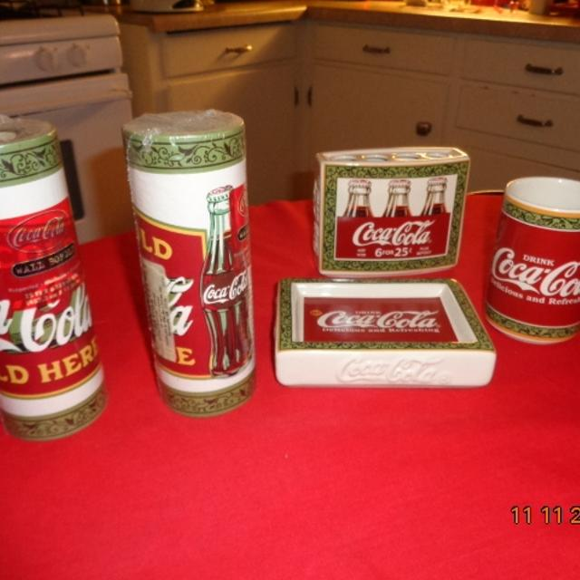 Best 6 Pcs Coca Cola Bathroom Decor