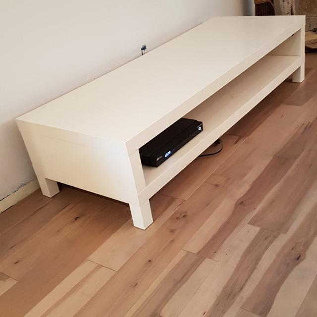 Tv Bench Ikea Lack Meuble Tele