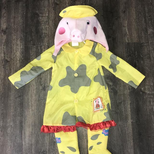 Peppa Pig Muddy Puddles Halloween Costume Size 3t 4t