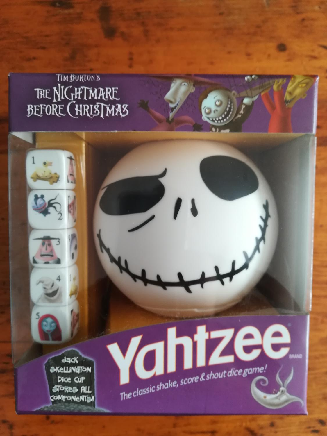 Find more A Nightmare Before Christmas Yahtzee for sale at up to 90 ...