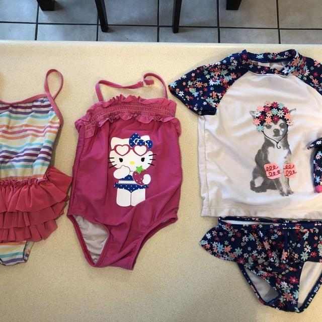51ad1533e1 Find more Size 3t Bathing Suit Lot, Gymboree Two Piece Has Matching ...