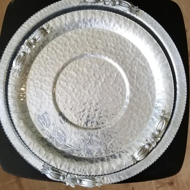 Best Vintage Hand Wrought Creations By Rodney Kent Serving Tray For Sale In Regina Saskatchewan For 2021