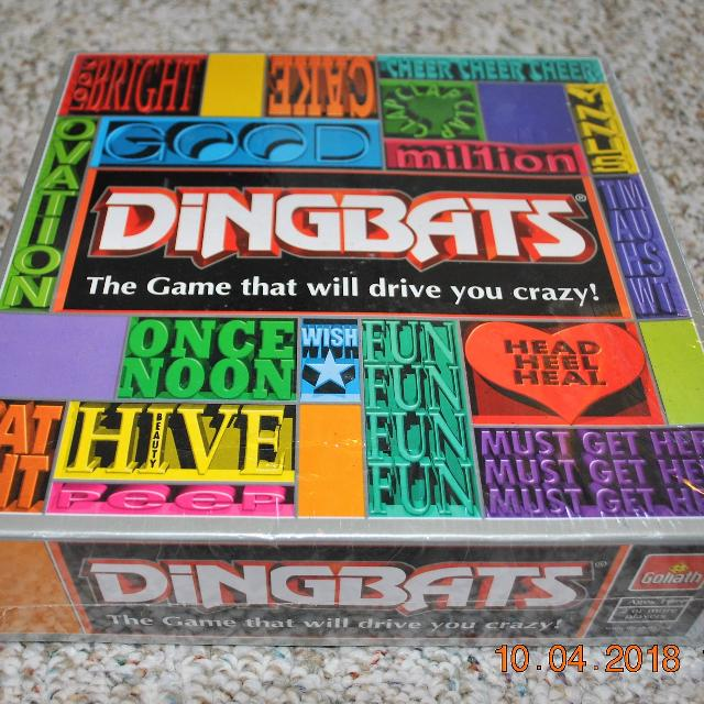 Dingbats Board Game
