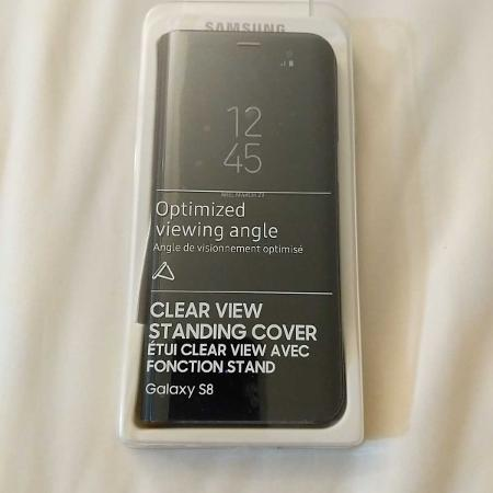 Samsung Galaxy s8 clear view flip cover for sale  Canada