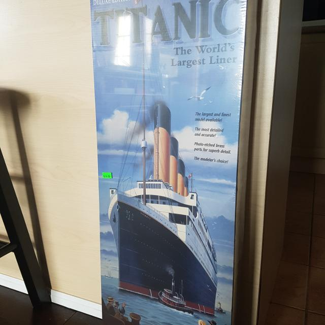 Brand new Titanic model kit