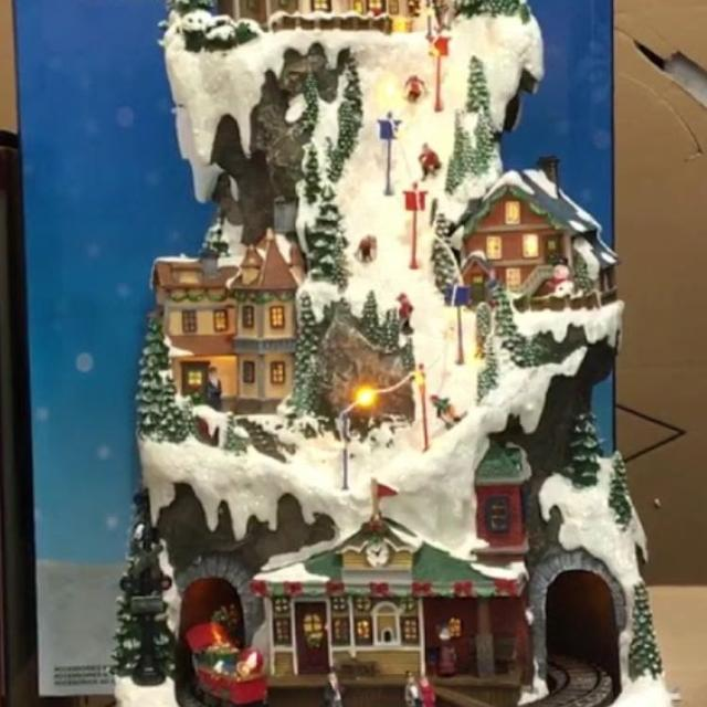 costco christmas village