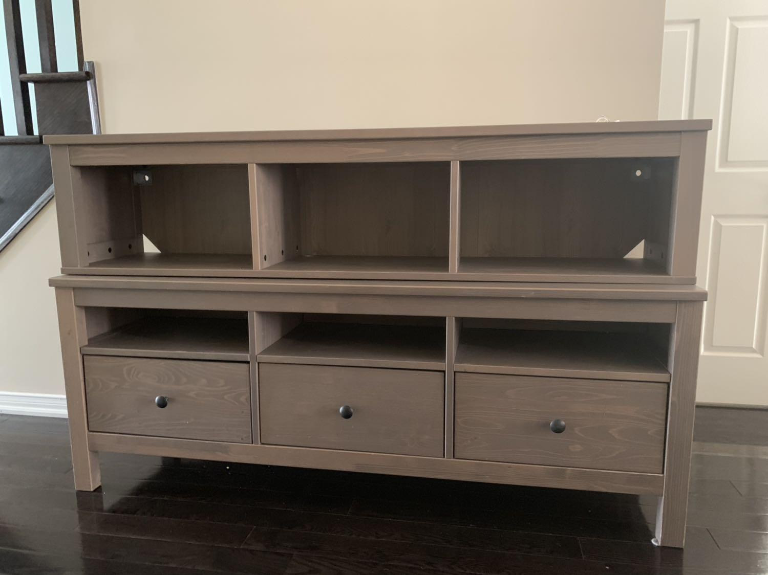 Find More Used Ikea Hemnes Gray Wall