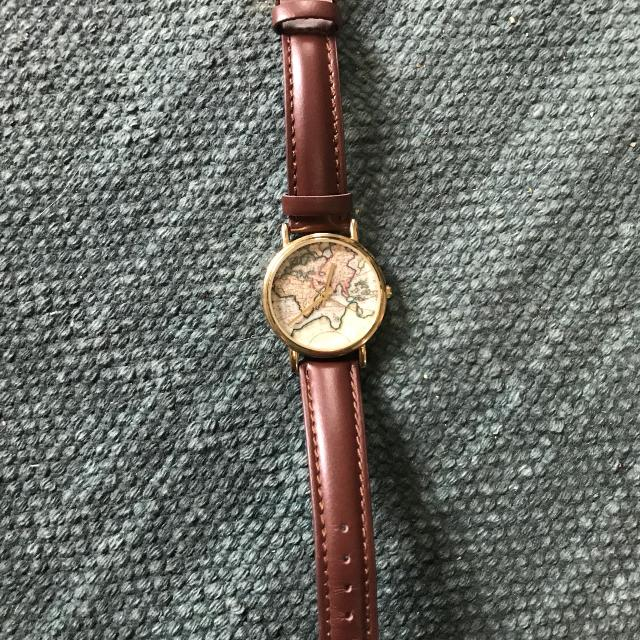 Best World Map Leather Watch for sale in Vaughan, Ontario for 2019