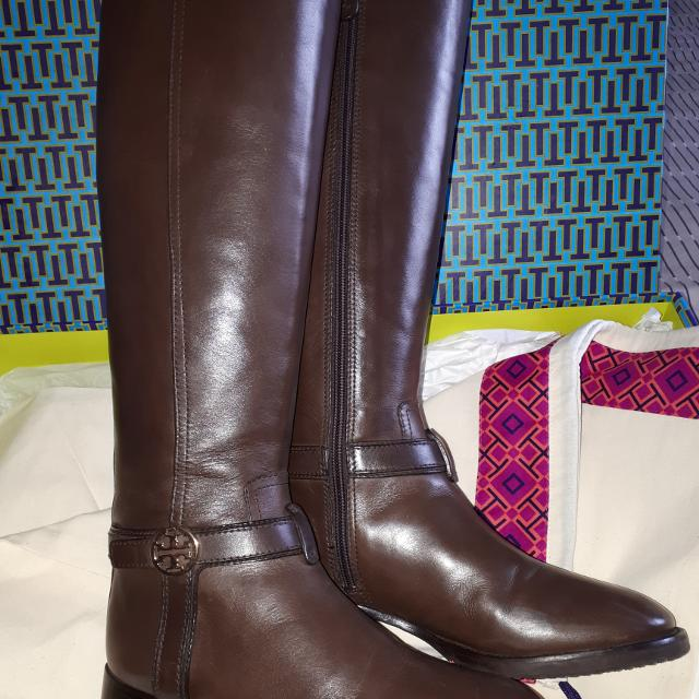 4598f37eecce Find more Tory Burch Bristol Riding Boots Size 6 for sale at up to ...