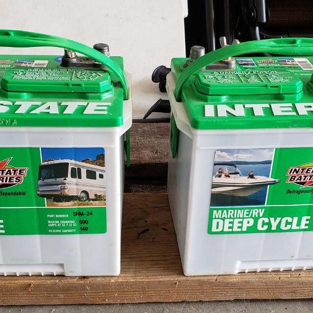 Interstate Deep Cycle Marine Battery >> Find More Interstate Deep Cycle Marine Rv Batteries For Sale At Up