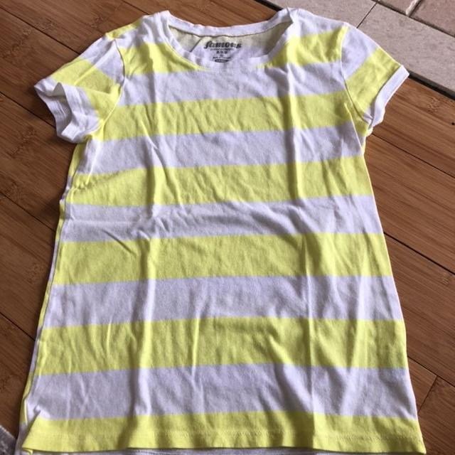 fcae79994b93 Best Old Navy Girls Yellow/white Striped T-shirt. Euc. Size 8 Med Sfpf Home  for sale in Oshawa, Ontario for 2019