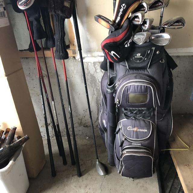 40eb7e14165d Find more Left Hand Men s Golf Clubs And Bag for sale at up to 90% off