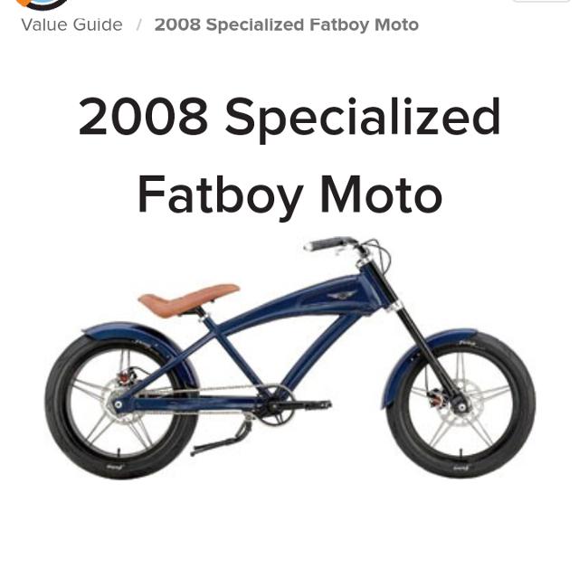 schwinn specialized fatboy bicycle