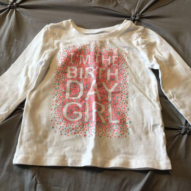 Best Birthday Shirt From Childrens Place Size 9 12mths Great Condition For Sale In Clarington Ontario 2019
