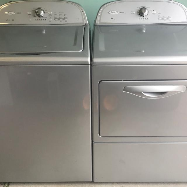 Find More Matching Set Of Whirlpool Cabrio Washer And Gas