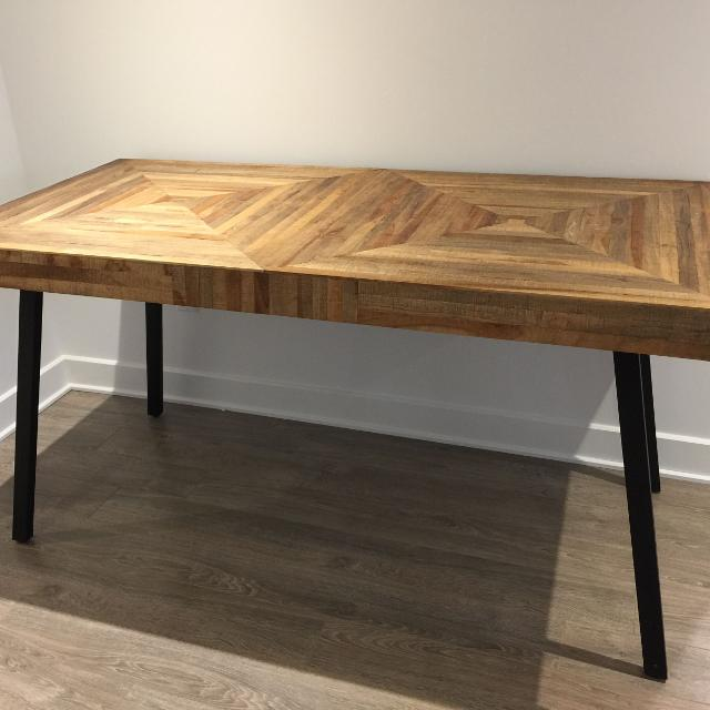 Find More Brand New Condition Dining Table From Structube 150cm For