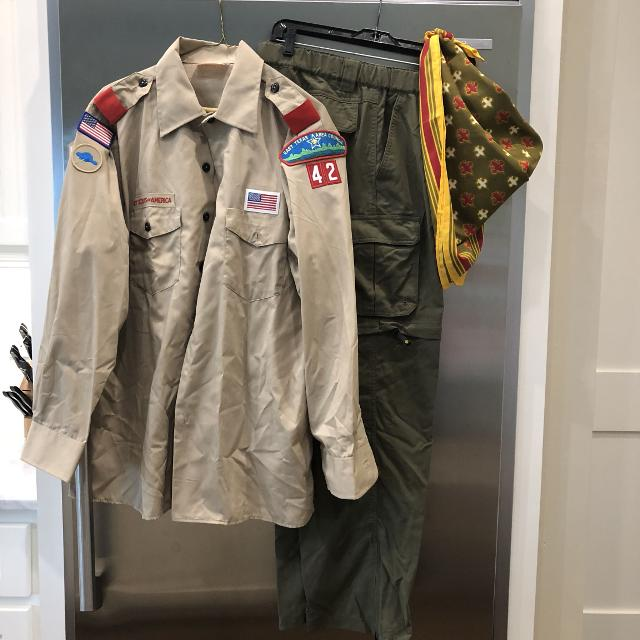 8eeaa79d Best Authentic Adult Boy Scout Uniform for sale in Brazoria County, Texas  for 2019