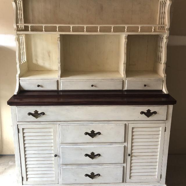 Best Vintage Hutch China Cabinet For
