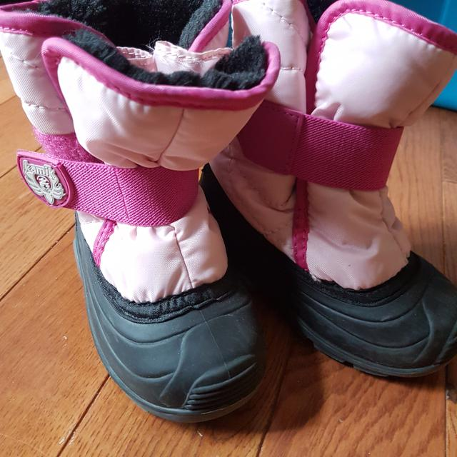 cc0208292d0b6 Find more Toddler Girl Size 7 Kamik Winter Boots for sale at up to ...