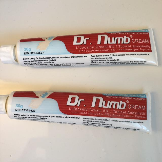Find More Dr Numb Cream Retails For Over 32 Each Selling For 15
