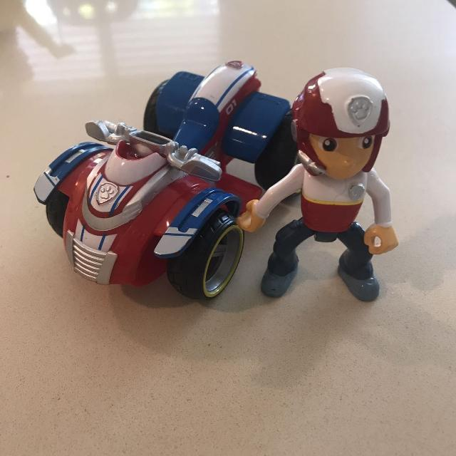 Paw patrol Ryder action figure and vehicle set