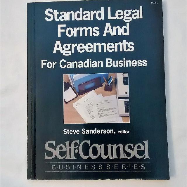 Find more Standard Legal Forms & Agreements For Canadian