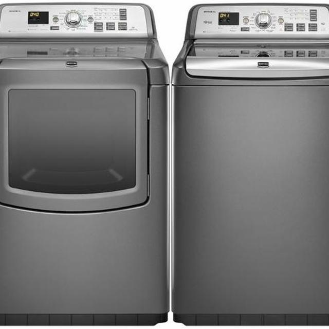 Maytag Bravos Xl He Washer And Dryer With Steam Inside Warranty