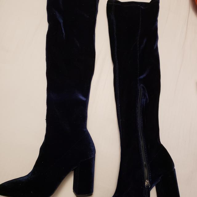bb3cd256ecbc Find more Zara Over-the-knee Boots for sale at up to 90% off ...