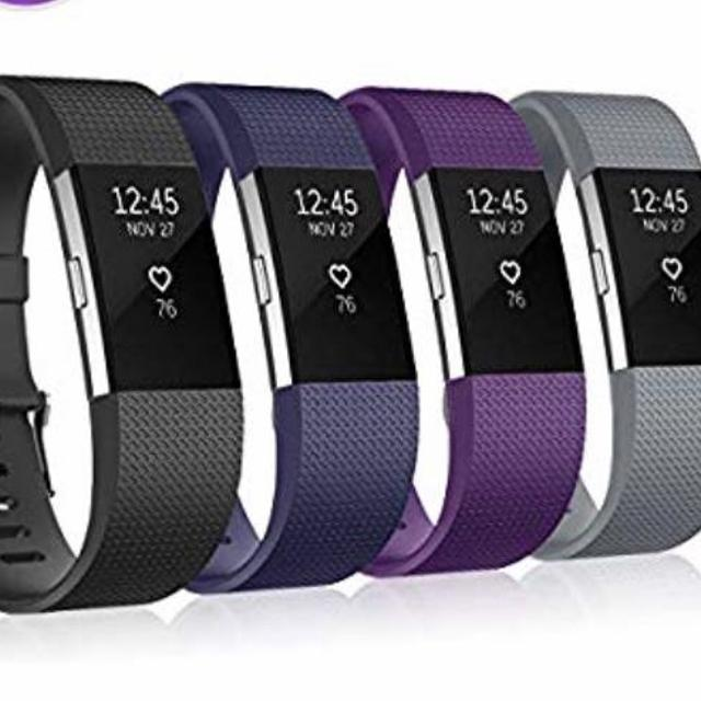 FitBit Charge 2 with Heart Rate & 4 bands