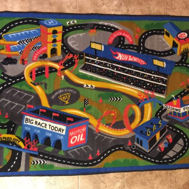 Find More Hot Wheels Play Rug For Sale At Up To 90 Off