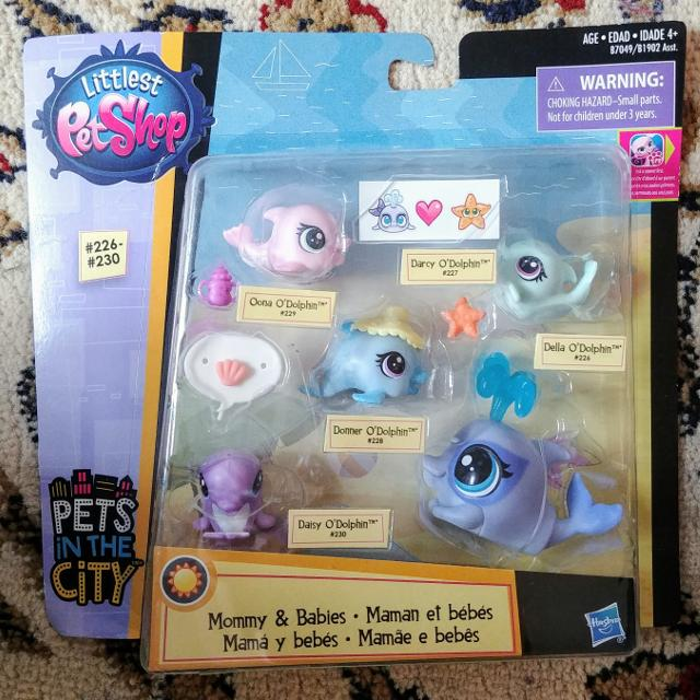 Best Littlest Pet Shop Dolphin Family For Sale In Dollard Des