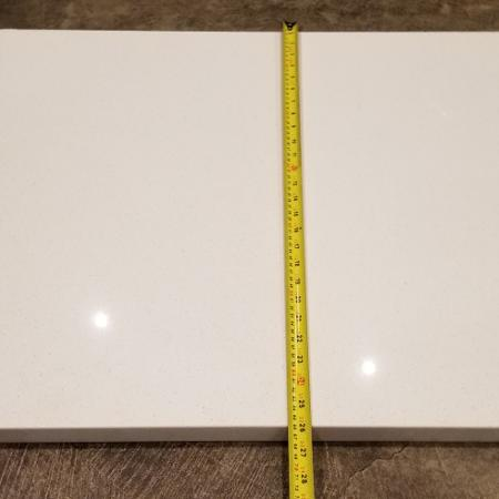Nougat White Quartz counter top piece for sale  Canada