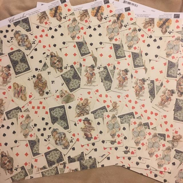 Best New 12x12 Card Theme Scrapbook Paper 6 Pieces For Sale In