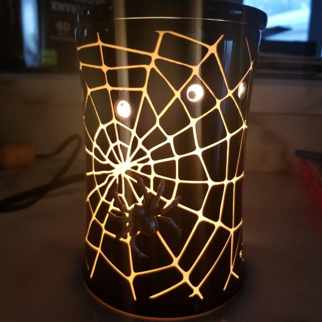 Find More Halloween Scentsy Premium Warmer Spider Web For Sale At